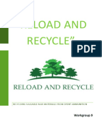 AricaBullet Reload and Recycle