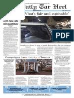 The Daily Tar Heel for Feb. 3, 2017