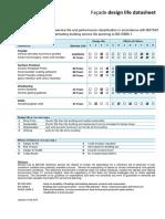 Façade Design Life Datasheet V2
