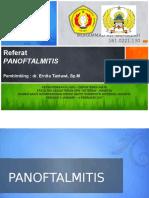 Referat Mata Ali - Panoftalmitis
