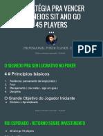eBook Estratégia Pra Vencer Torneios Sit and Go 1