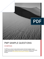 Free PMP Exam Sample Questions