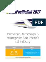 Asia Pacific Rail 2017 Singapore - Terrapinn