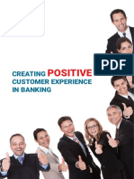 Creating A Positive Customer Experience in Banking