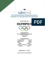 Case Study on Olympics_Group5