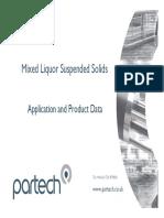 1.MixedLiquorSuspendedSolids(MLSS)Monitoring ApplicationandProductData