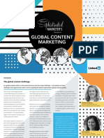 Sophisticated Marketers Guide to Global Content Marketing