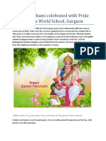 Vasant Panchami Celebrated With Pride by the Paras World School (2)