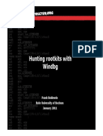 Hunting Rootkits With Windbg-P1