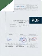 12. BES - IsO - UT - 12 - Ultrasonic Test - Rev 00