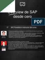 Presentación de SAP