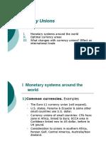 Monetary Economics Lecture 9