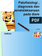 Patofisiologi , diagnosis dan penatalaksanaan pada diare.pptx