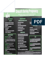 Crossfit Pregnancy
