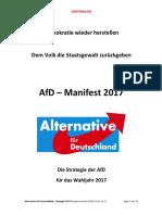 AfD - Strategie - 2017