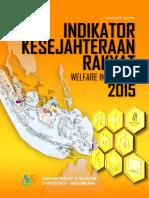 Indikator Kesejahteraan Rakyat 2015.pdf