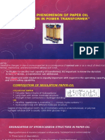 Ahmad Arslan - Aging Phenomenon of Paper oil insulation in power transformer (64537356).pptx
