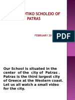 presentation of our school