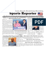 January 25 - 31, 2017   Sports Reporter