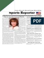 February 1 - 7, 2017  Sports Reporter