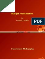 budget pres