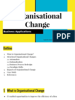 Business Applications - Organisational Change