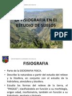 La Fisiografia en El Estudio de Suelos - 2010