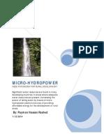 Design Micro Hydro