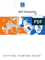 NGT SRx Transceiver Getting Started Guide