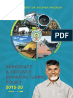 Aerospace Defence Manufacturing Policy 2015-20
