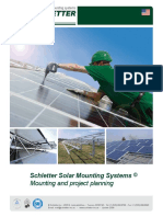 Mounting Solar Panels Project Planning