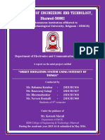Smart Irrigation System using IoT - Report 2016.pdf