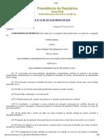 LEI Nº 13.105, De 16 de MARÇO de 2015 - Novo Código de Processo Civil