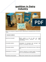 Competition in Dairy Industry