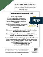 Bowthorpe News February 2017