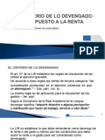 15.10.13 Criterio Devengado Impuesto Renta