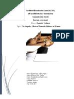 Communication Studies Ia (1)