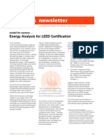 Energy Analysis for Leed