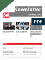 EAPM Newsletter janvier 2017