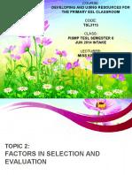 TSL3113 Topic 2