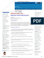 Selenium Tester Resume _ Software Testing