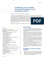 Physiopathologie de la maladie ulcéreuse gastroduodénale à l'ère d'« Helicobacter pylori »