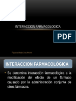 Interaccion farmacologica