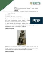 Estudio de Los Valores Plásticos, Modelado y Tallado Para La Creación de Obras Escultóricas