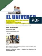 Articulos en Periodicos de Wilson Betancourt Desde el 2003