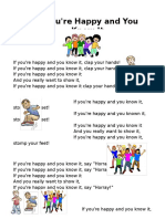 If You'Re Happy-handout