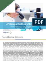 Sanofi 2017 JPM Presentation
