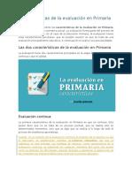 Características de la evaluación en Primaria.docx