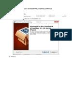 Panduan Instalasi Virtual Box 5.1.14