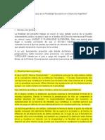 El Problema de La Unidad y de La Pluralidad Sucesoria en El Derecho Argentino